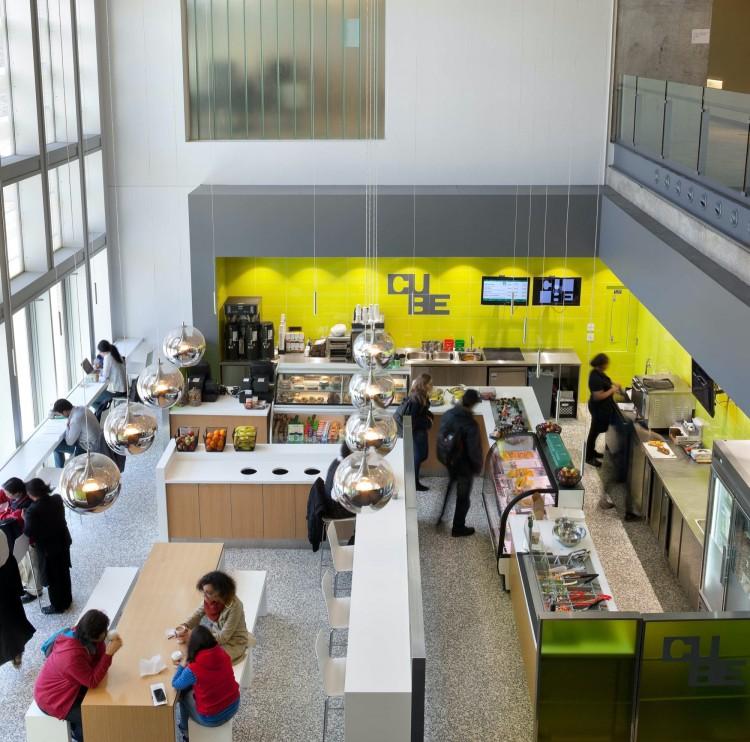 Gow Hastings Architects University Of Toronto Cube Cafe